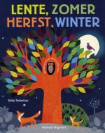Lente, zomer, herfst, winter Britta Teckentrup recensie