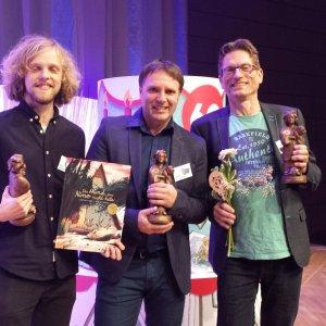 Edward van de Vendel wintDeutsche Jugendliteraturpreis